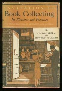 Invitation To Book Collecting - 1947