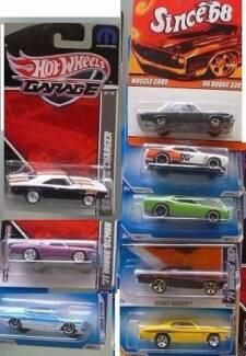 8 Hot Wheels Dodges MOC
