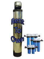 Rent To Own Water Softener - FREE INSTALL