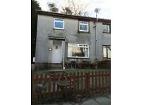 Three (3) bedroom semi detached house. Front & rear garden. Kilmacolm