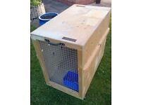 Wooden Travel(Flight) Dog Crate
