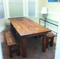 Custom Wooden Furniture