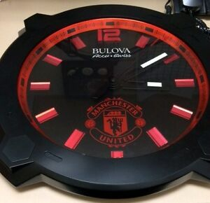 """Manchester Limited Edition Swiss Accu 16"""" wall clock"""