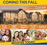 Brand New Townhome condo from Builder with 5% Down in Brampton