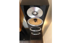 Immaculate Gloss Black Bowers and Wilkins CM8