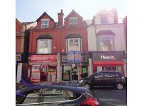 SHOP TO LET - A lock-up shop situated in a prime location on the busy BEARWOOD ROAD (HIGH ST)