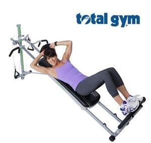 NEW TOTAL GYM SUPREME TOTAL GYM SUPREME WITH SIX ATTACHMENTS FOUR DVDS FITNESS EXERCISE EQUIPMENT  79709955
