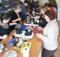 Soap Making Class for Adults!