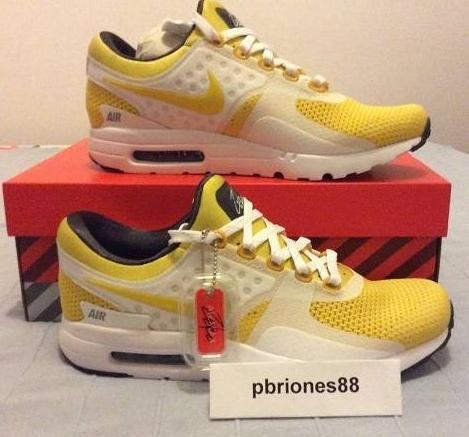 2293bc6ec317b Nike Air Max Zero - Yellow - 789695-100 - US9 BNIB DS