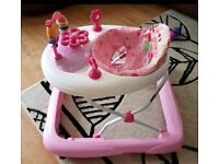 Baby walker less than 6 months old , hardly used great condition. Works wid music.