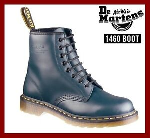 Dr Doc Martens 1460 Unisex 8 Eyelet Leather Welted Ankle Boots