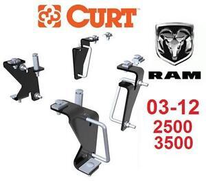 NEW* CURT 5TH WHEEL INSTALL KIT 03-12 DODGE RAM 2500 3500 STD AND QUAD CAB 102830017