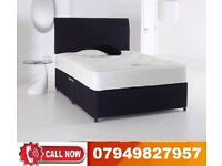 DOUBLE DAVAN BASE BED WITH MEMORY FOAM