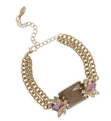 Embellished bee bracelet