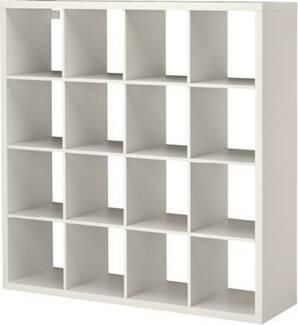 IKEA EXPEDIT 16 cube shelves - White Mount Gravatt Brisbane South East Preview
