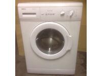 Beko 5kg.1000 spin Compact washing machine. Model WM5101W