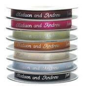 Personalised Printed Ribbon