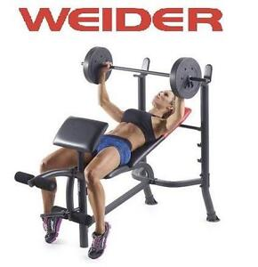 NEW* WEIDER PRO WEIGHT BENCH PRO WEIGHT BENCH 106387832