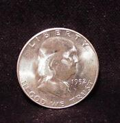 Franklin Half Dollar Uncirculated