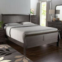 New - King Greystone Sleighbed Bed Frame +delivery available