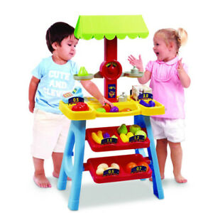 My First Market Stall(All your kid need for role play fun)- $45
