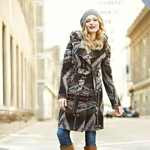 brand new with tags stunning hooded tribal coat