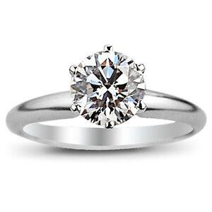 1.00 CARAT RBC DIAMOND SOLITAIRE RING - KARAT FINE J.