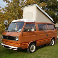 looking to rent to own a camper van