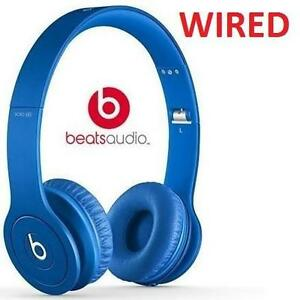NEW BEATS SOLO HD HEADPHONES BLUE - ON-EAR - WIRED SOLOHD - AUDIO ELECTRONICS 105894198