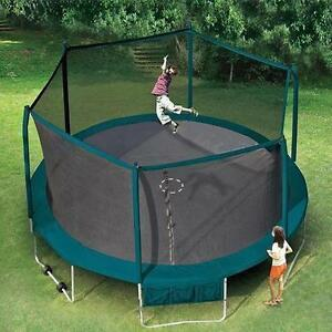 Good Quality 15ft Platinum Trampoline & Safety Netting Enclosure