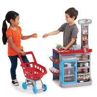 NEW: Electronci Supermarket Play Set With Shopping Cart