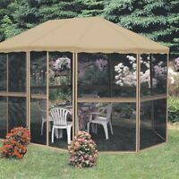Gazebo Octogonale 9' x 13'
