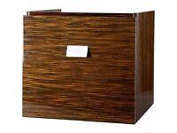 Underbasin Cabinet Square - Ebony by Vessini Opaz Brand New