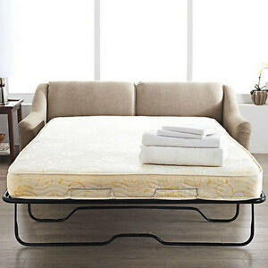 Queen mattress for sofa bed 60x74 inch new by bunk beds for Sofa bed 60 inches