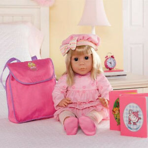 NEW: Interactive Toddler Doll(This doll speak English & French)