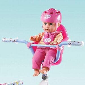 NEW: Lotus Onda 18'' Soft-bodied Baby Doll In Bike Basket