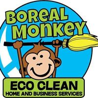 The Boreal Monkey Eco-Clean Home & Business Services