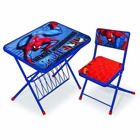 **100% GUARANTEED PRICE!**BRAND NEW Kids Themed Desk And Folded Chair-Kids Furniture!Same/Next day!!