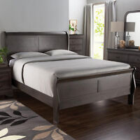 Brand New - King Wooden Sleighbed Frame +delivery available