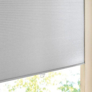 """one blind: Levolor brand new pleated shade, 70½"""" w X 47¾"""""""