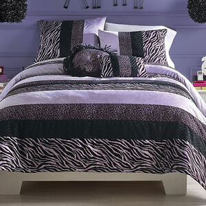 My stuff double/queen  zebra bedding