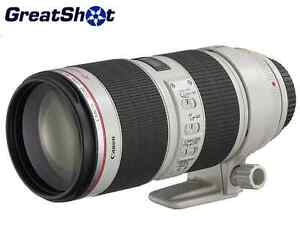 New!! Canon EF 70-200mm 2.8 L IS II USM Zoom 2751B002
