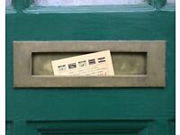 Leafleters / Leaflet distributors wanted in Dunton Green / Sevenoaks