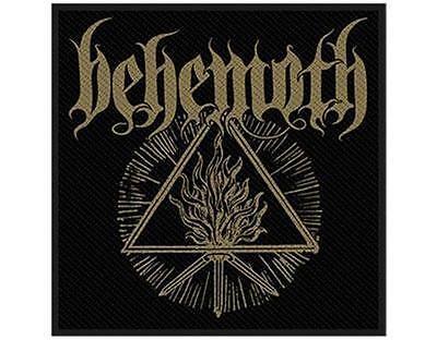 OFFICIAL LICENSED - BEHEMOTH - FUROR DIVINUS SEW ON PATCH BLACK DEATH METAL