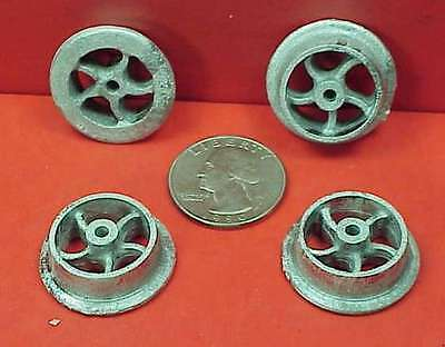 GDP03 WISEMAN G SCALE OR 1:20.3 PUSH CAR OR MINE CAR WHEELS SET