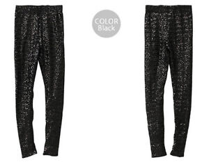 Fabulous Sequin-embossed Leggings Gold, Black, Blue Sequins Sequin drops Spangle