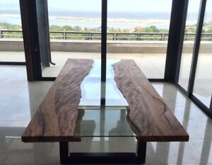 Live Edge Wood Dining Tables, Coffee Tables & Benches