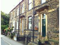 Pudsey.Beautiful stone furnished cottage.