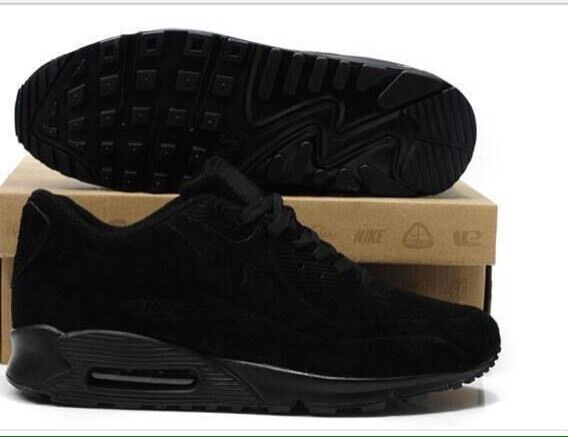 huge selection of e2496 0e612 ... closeout nike air max 90 all black suede 31333 8c8d2 ...