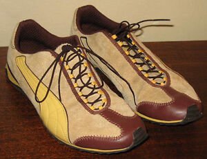 #TelusHelpMeSell - PUMA Tan Brown Suede Walking Sneakers Shoes